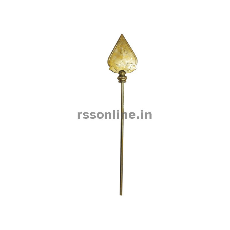 buy online brass vel   lord murugan weapon temple items