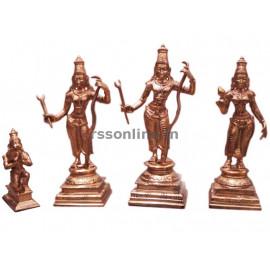 Rama Set - Panchaloha