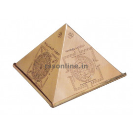 Pyramid With Yantra