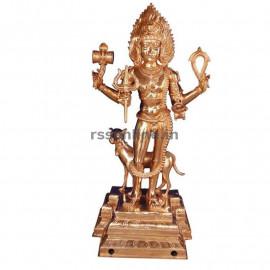 Panchaloha Bhairava - 12''