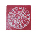Kolam Stickers(Square) - 2