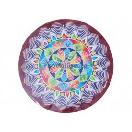 Kolam Stickers(Round) - 2