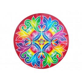 Kolam Stickers(Round) - 4