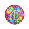 Kolam Stickers(Round) - 4