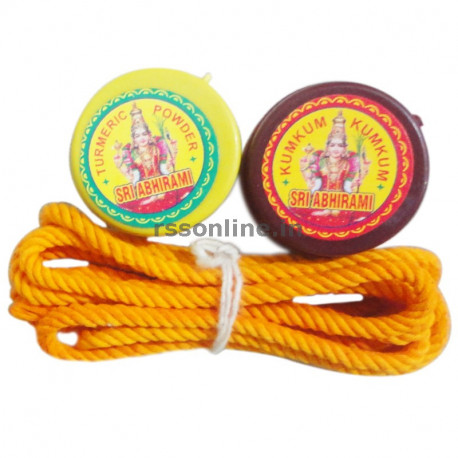 Thali Saradu Set