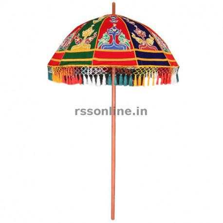 Temple Utsava Umbrella - 8 Cane