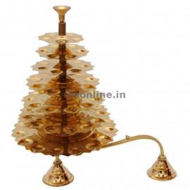 Adukku Aarthi - 7 Step Deepam