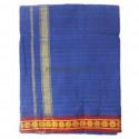 Veshti Blue - 4 Muzham