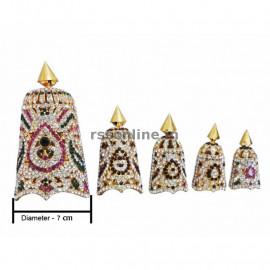 Crown - Stone Ornaments For Deity Idols