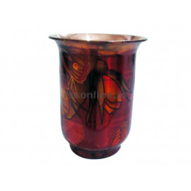 Water Glass Multi Flower - Copper