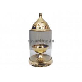 Glass Lantern Round