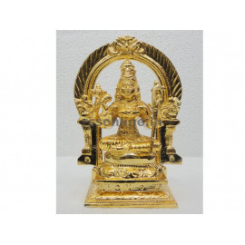 Kamatchi With Thiruvachi - Gold Coating