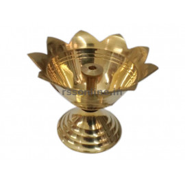 Vilakku Thamarai - Brass
