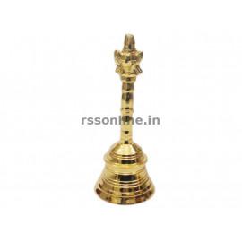 Hand Bell Sangu - Gold Coating