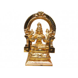 Kamatchi With Thruvachi - Gold Coating