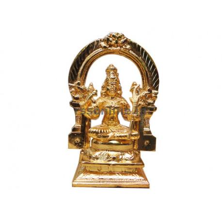 Kamatchi With Thruvachi - Gold Coating