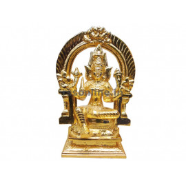 Mariyamman With Thiruvachi - Gold Coating
