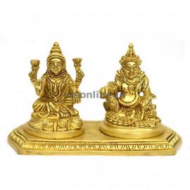 Brass Guber lakshmi