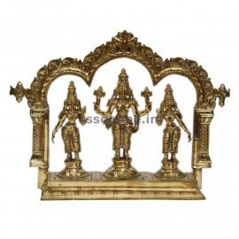 Panchaloha Perumal Set