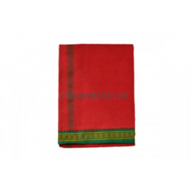 Red Dhoti (Veshti)