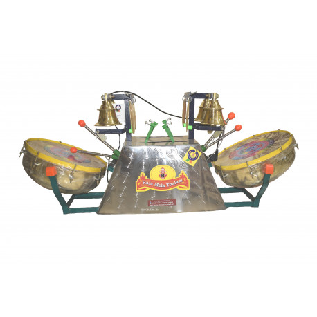 Temple Drum Bell Machine Online : buy automatic temple bell online arti machine kovil mani double drum ~ Hamham.info Haus und Dekorationen