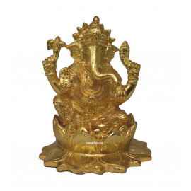 Lord Ganesh Gold Coating