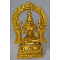 Lakshmi with Thiruvachi - Gold Coating