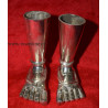 Astapatham silver coating  Right and Left foot
