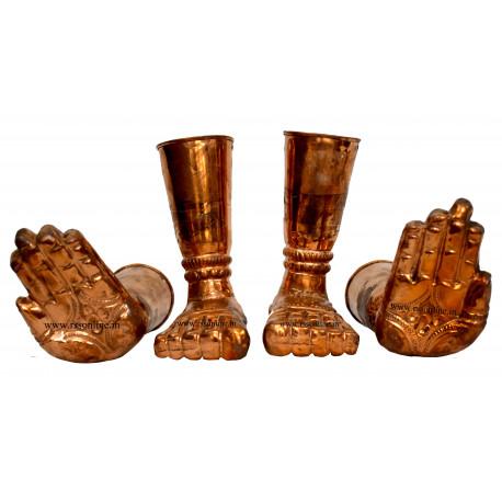 Ashtapaadham set copper
