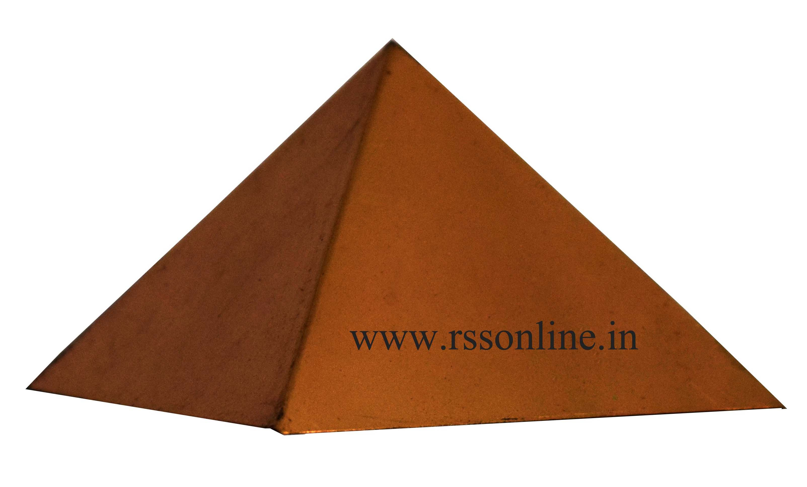 Buy Pyramid Copper for Vasthu Gift Items Online