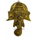 Vinayagar Face Brass Sheet
