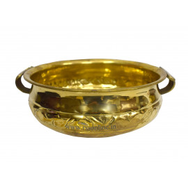 Uruli Flower Bowl Brass
