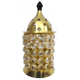 Crystal Deepam Brass