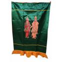 Perumal and Lakshmi Screen Satin