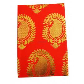 Navagraga Blouse bit Golden print