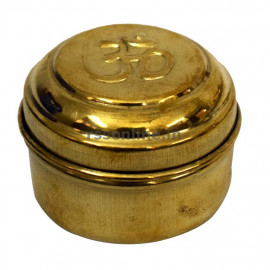 Dabba Small - Brass
