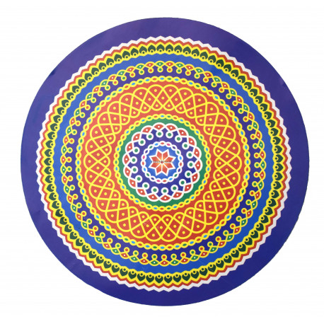 Kolam Sticker