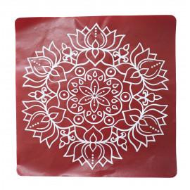 Kolam Sticker Merun
