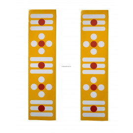Yellow Sticker Border