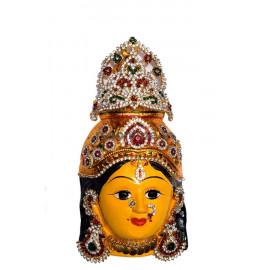 Varalakshmi Face with jewels