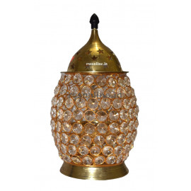 Brass Crystal Deepam Oval Shape