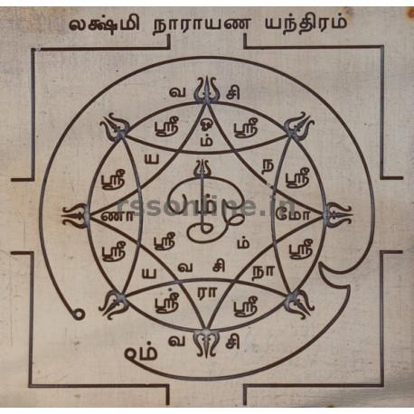 Lakshmi Narayana Yantra