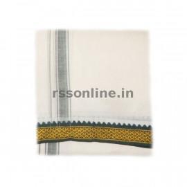 Polyester Iyer Dhoti - 9 X 5