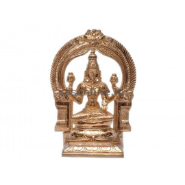 Seated Lakshmi With Arch - Panchaloha