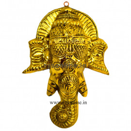 Vinayagar Face Brass Sheet
