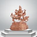 """Sarabeswarar - 6"""" - Panchaloha"""