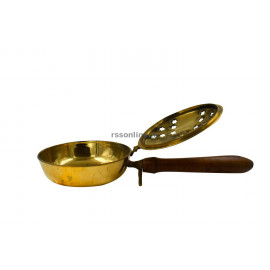 Brass Sambrani Stand Jalladai Type Big