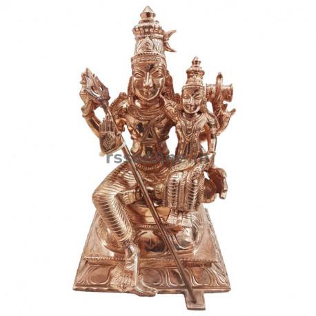 Swarna Akarshana Bhairava - Panchaloha