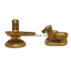 Panchaloga Lingam and Nandhi