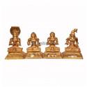 Azhwarkal  - (12 Idols) - Panchaloha